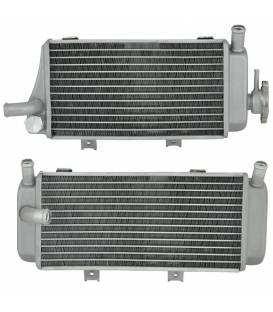 Radiators for motorcycles