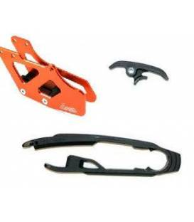 Chain guides and gliders