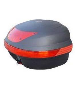 Plastové a kovové boxy pro motocykly