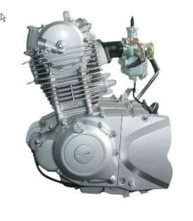 Motor a převodovka